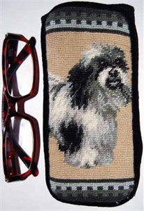Havanese Eyeglass Case