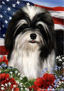 Havanese House Flag