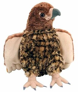 Red Tailed Hawk Plush Stuffed Animal 12""