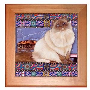 Himalayan Cat Trivet