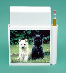 Cairn Terrier Hold-a-Note