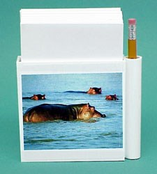 Hippopotamus Hold-a-Note