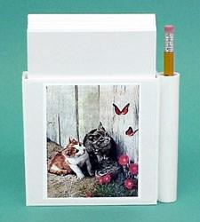 Kittens & Butterflies Hold-a-Note