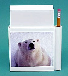 Polar Bear Hold-a-Note