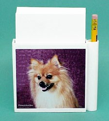 Pomeranian Hold-a-Note