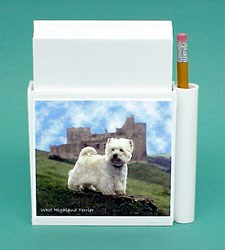 West Highland Terrier Hold-a-Note
