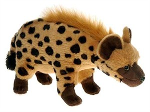 Spotted Hyena Plush Stuffed Animal 13""