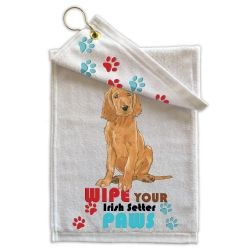 Irish Setter Paw Wipe Towel