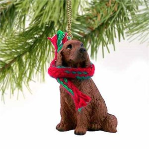 Irish Setter Tiny One Christmas Ornament