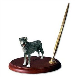 Irish Wolfhound Pen Holder