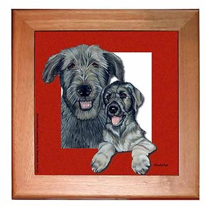 Irish Wolfhound Trivet