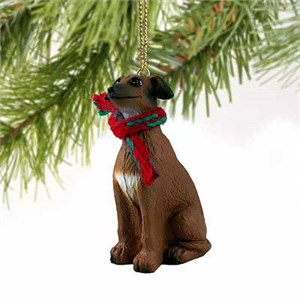 Italian Greyhound Tiny One Christmas Ornament