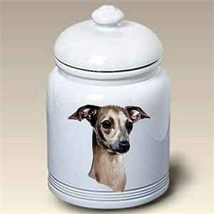 Italian Greyhound Treat Jar