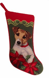 Jack Russell Christmas Stocking
