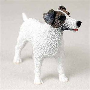 Jack Russell Terrier Figurine Rough BrnW