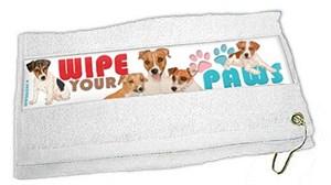 Jack Russell Terrier Paw Wipe Towel