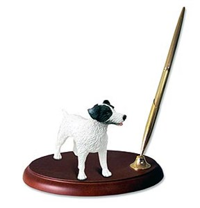 Jack Russell Terrier Pen Holder (Rough Coat)