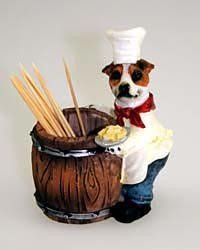 Jack Russell Terrier Toothpick Holder