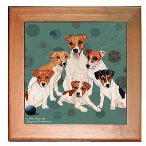 Jack Russell Terrier Trivet