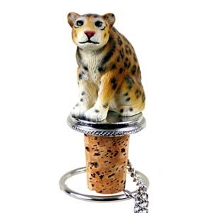 Jaguar Bottle Stopper