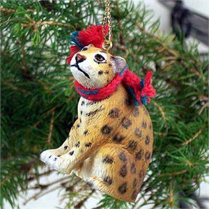 Jaguar Tiny One Christmas Ornament