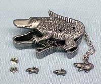 Alligator Jewelry Box