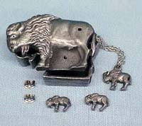 Buffalo Jewelry Box