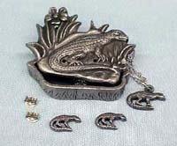 Iguana Jewelry Box