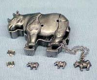 Rhinocerose Jewelry Box