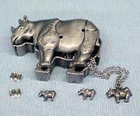 Rhinocerose Jewelry Box