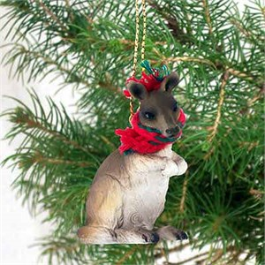 Kangaroo Tiny One Christmas Ornament