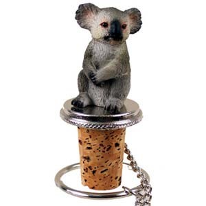 Koala Bottle Stopper