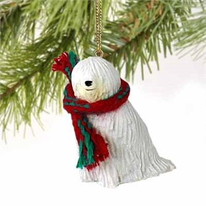 Komondor Tiny One Christmas Ornament
