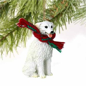 Kuvasz Tiny One Christmas Ornament