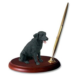 Labrador Retriever Black Pen Holder
