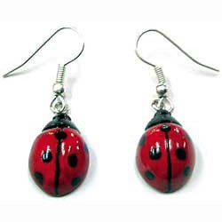 Ladybug Earrings True to Life