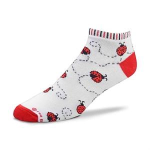 Ladybug Leaves Socks
