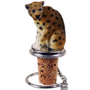 Leopard Bottle Stopper