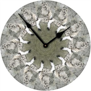 Leopard Wall Clock