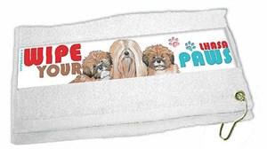 Lhasa Apso Paw Wipe Towel
