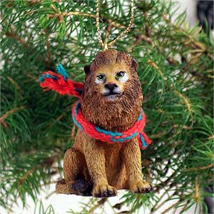 Lion Tiny One Christmas Ornament