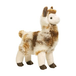 Llama Tan Stuffed Plush Animal