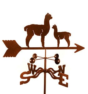 Llama Weathervane