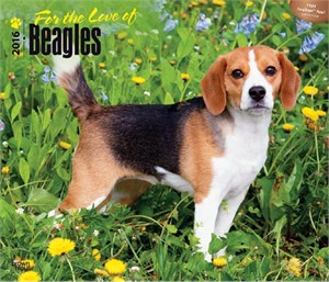 For the Love of Beagles Deluxe Calendar 2015