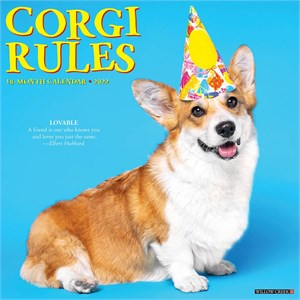 For the Love of Corgis Deluxe Calendar 2015