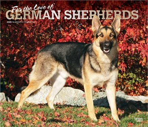 For the Love of German Shepherds Deluxe Calendar 2015