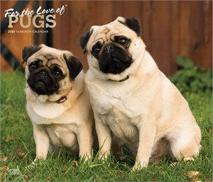 For the Love of Pugs Deluxe Calendar 2015