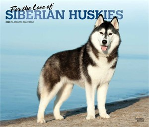 For the Love of Siberian Huskies Deluxe Calendar 2015