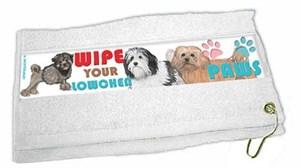 Lowchen Paw Wipe Towel