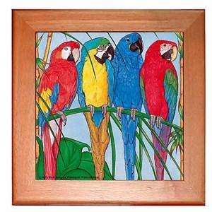 Macaw Trivet